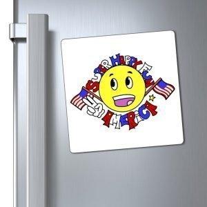 Super Happy Fun America (Magnets, Stickers, & Decals)