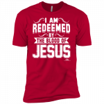 I Am Redeemed By The Blood of Jesus (Red)