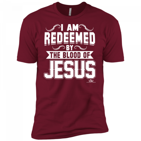 I Am Redeemed By The Blood of Jesus (Cardinal Red)