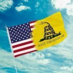 american patriots apparel flag 3 x 5 don t tread on me us flag dtomusaflag 15478311059558