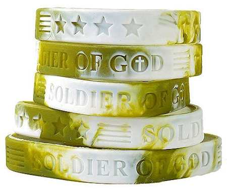 american patriots apparel wristband one size camo camouflage soldier of god silicone bracelet 27953021386854
