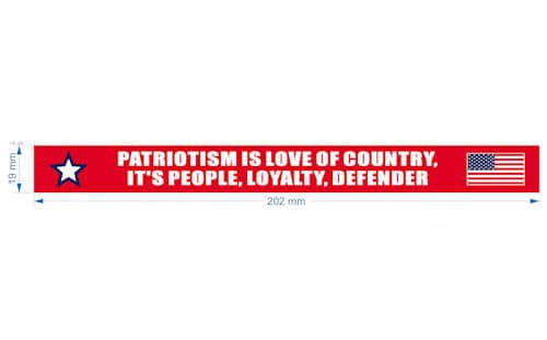 american patriots apparel wristband one size red patriotism is silicone bracelet with usa flag 27952999497830