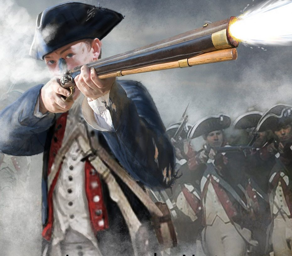 2nd Amendment Gear (Continental Soldier In Battle During The American Revolution)