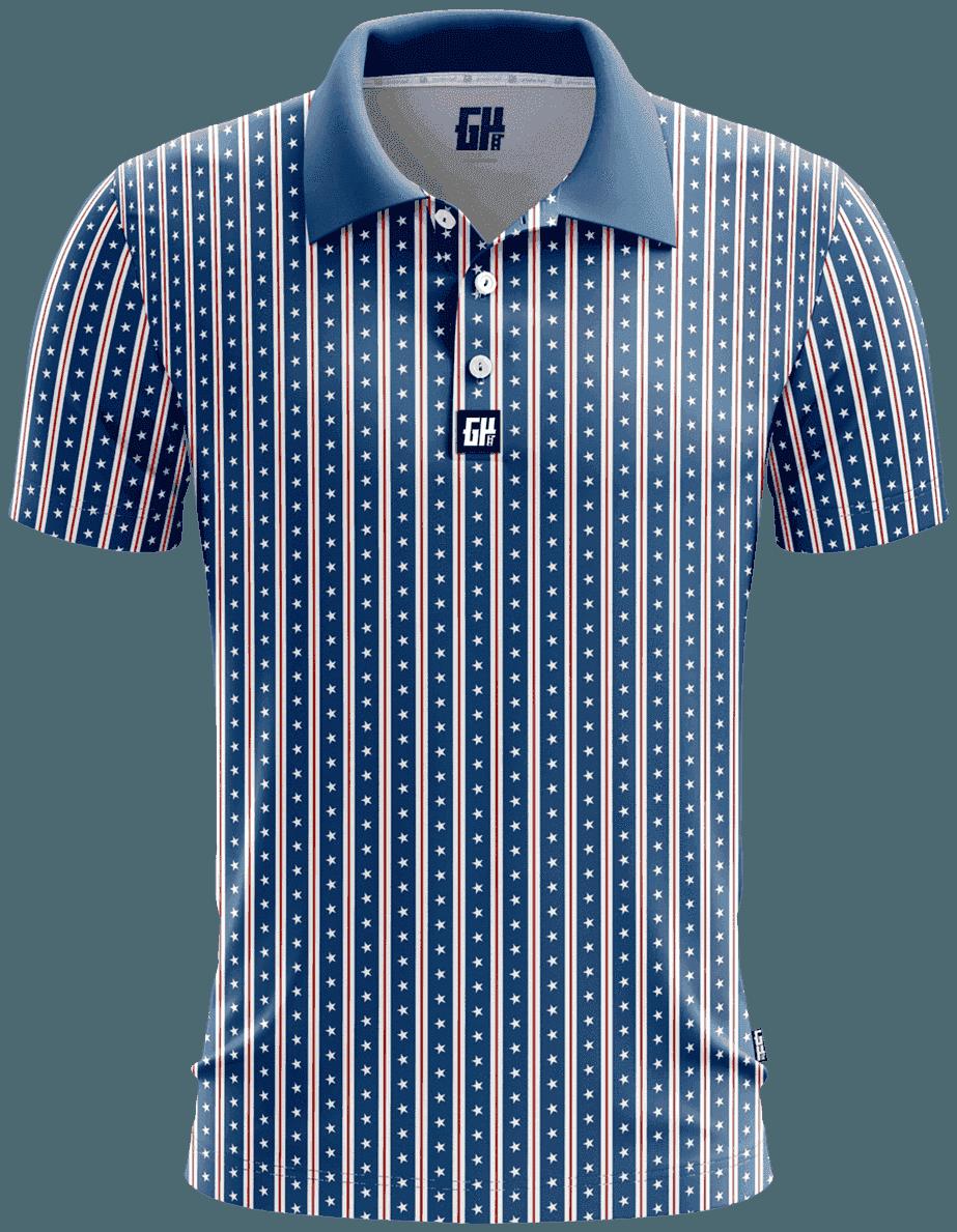 America Stars and Straps Polo