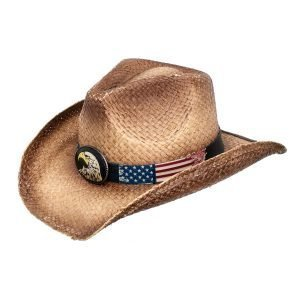 Big Jim Drifter Tea Stained Cowboy Hat - American Patriots Apparel