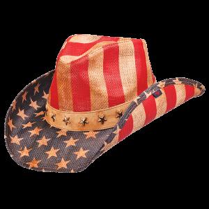 Justice Drifter Cowboy Hat - American Patriots Apparel