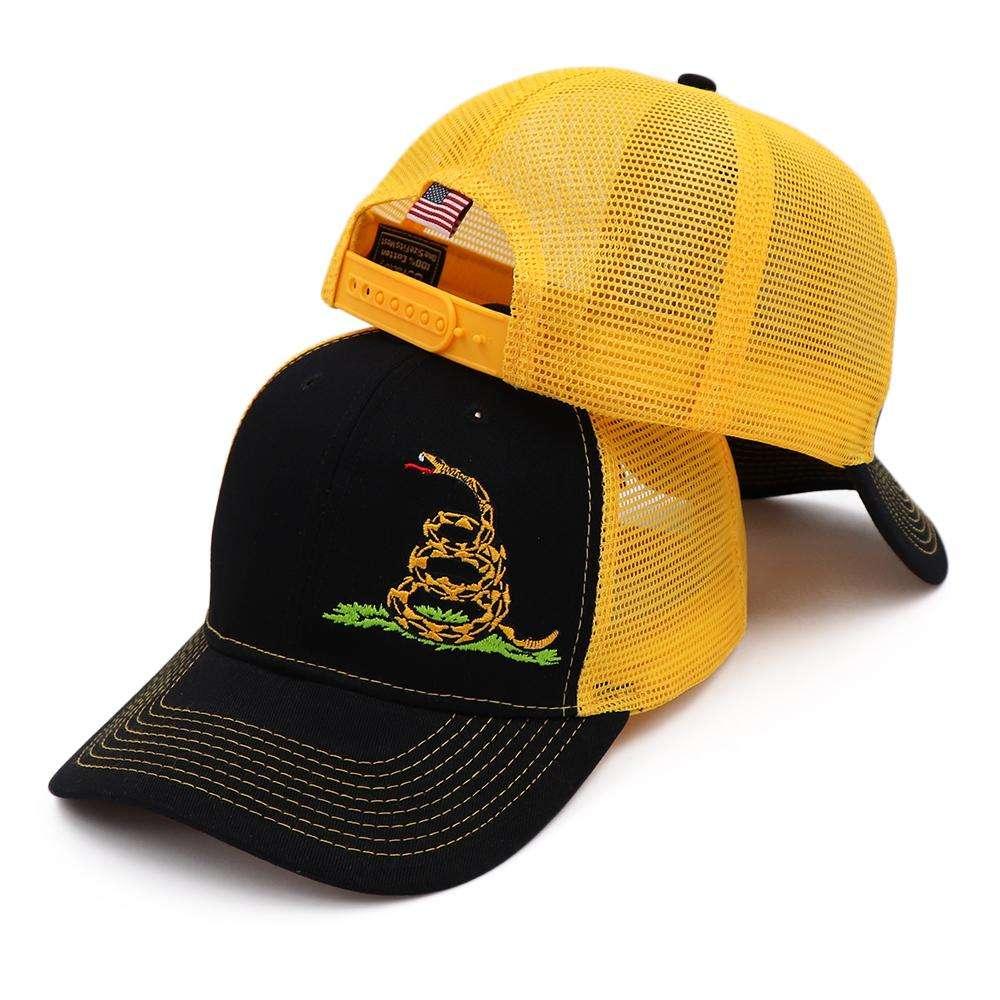 Don't Tread On Me Mesh Back Snapback Hat (3 Variants)