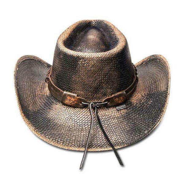 Stampede Hats Black Star USA Cowboy Hat HatsUnlimited.com Hats Unlimited California Hat Company CA1918 Black Back 54115.1575325873.1280.1280 16587.1609274971