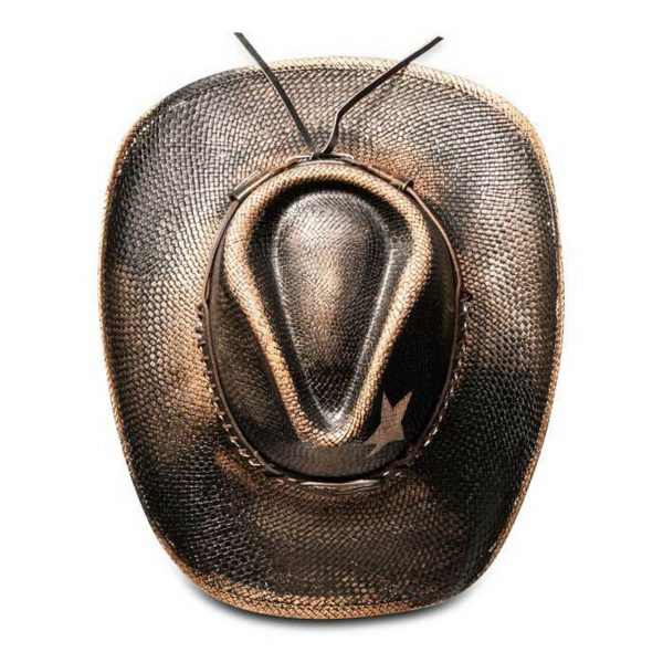 Stampede Hats Black Star USA Cowboy Hat HatsUnlimited.com Hats Unlimited California Hat Company CA1918 Black Top 59205.1575325873.1280 66222.1609274971