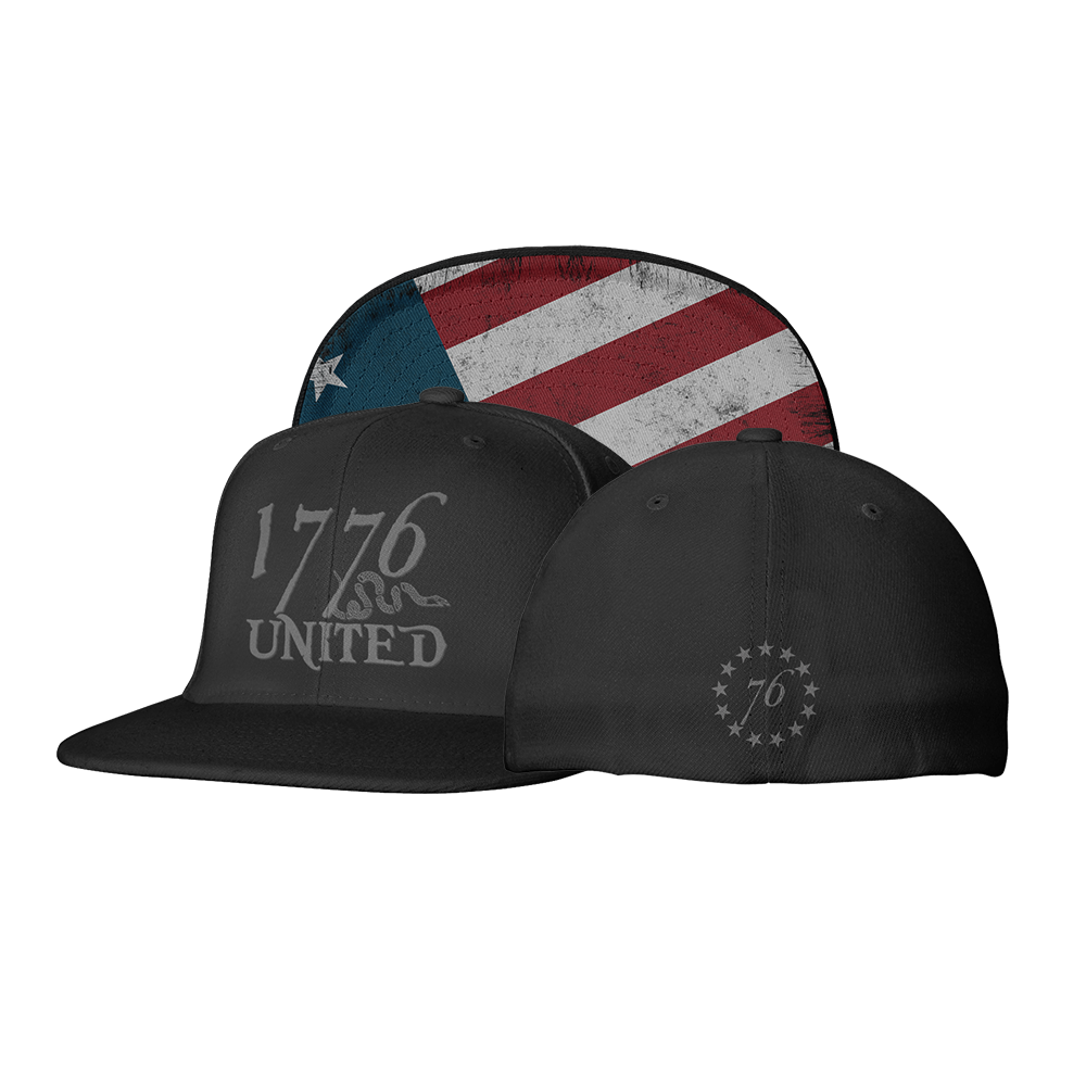 1776 United Logo Flexfit Betsy Ross Edition