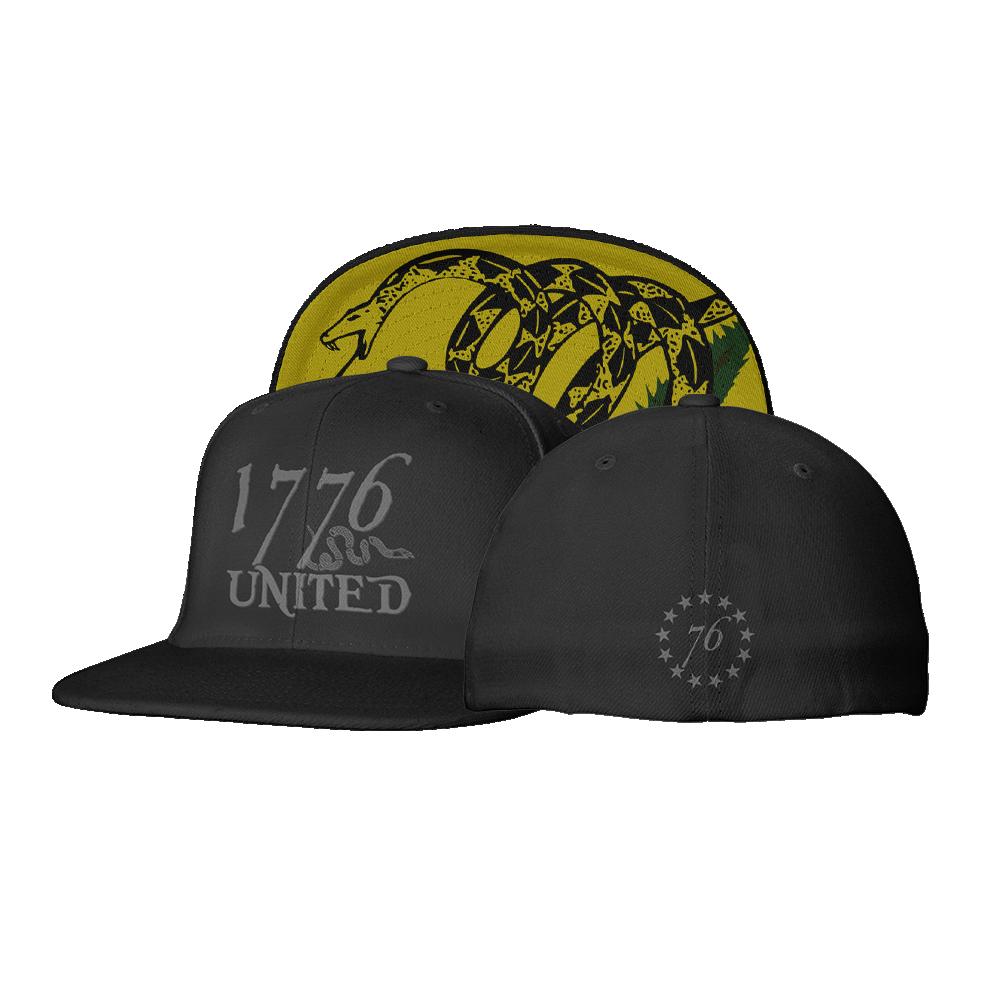 1776 United Logo Flexfit Don't Tread On Me Edition