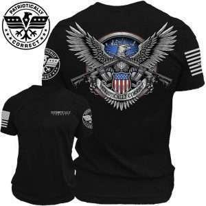 2A Shirt Eagle Black 1024x1024 1