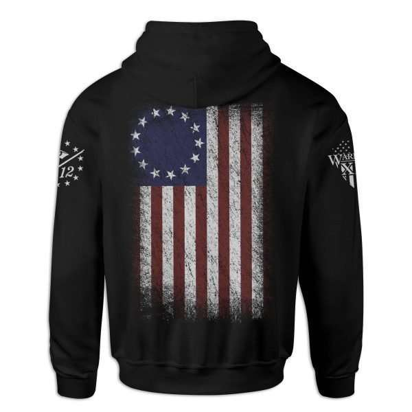 betsy ross flag hoodie back 1 1200x