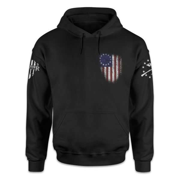 betsy ross flag hoodie front 1200x