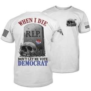 dont let me vote democrat shirt combo white 2000x