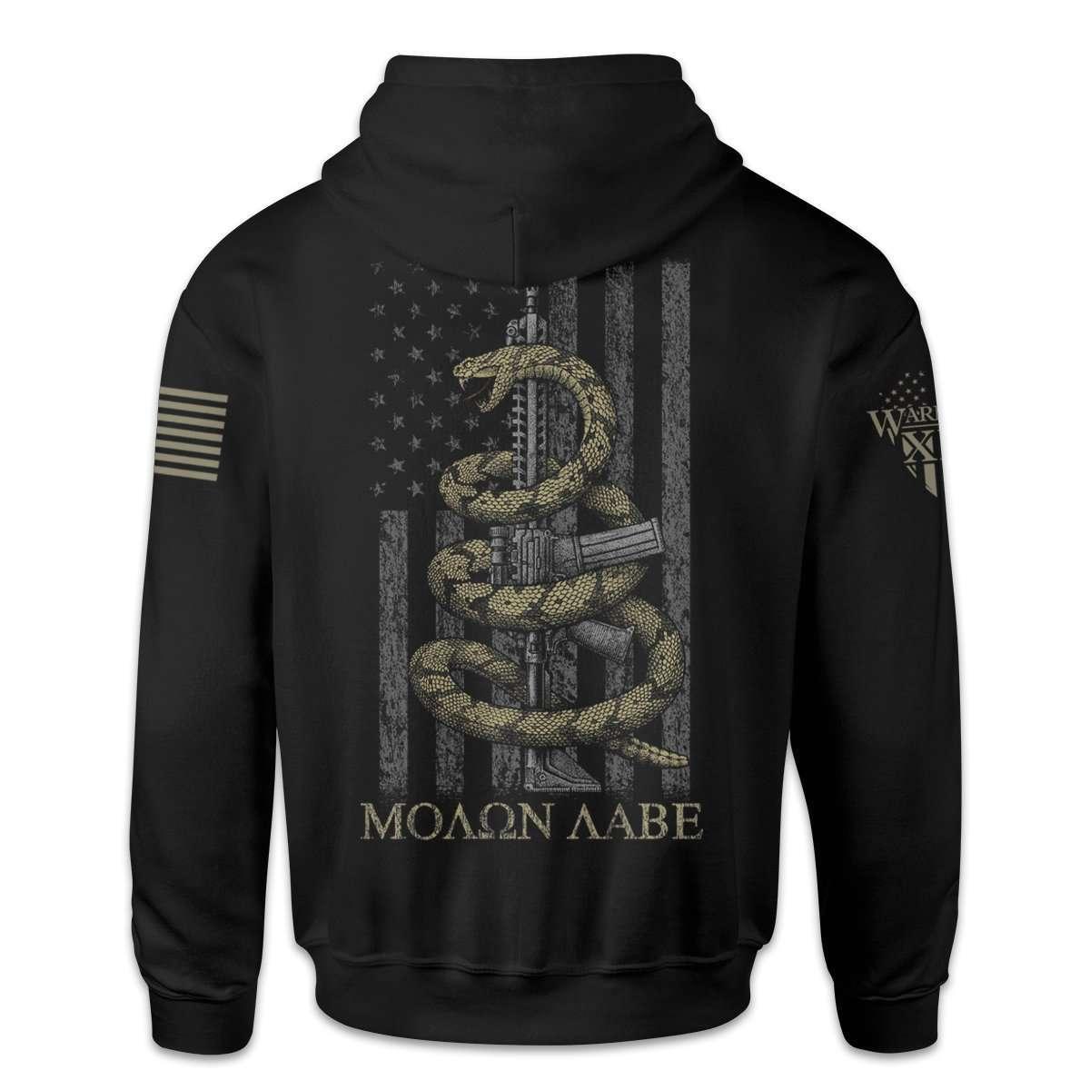 gadsden snake hoodie back 1200x