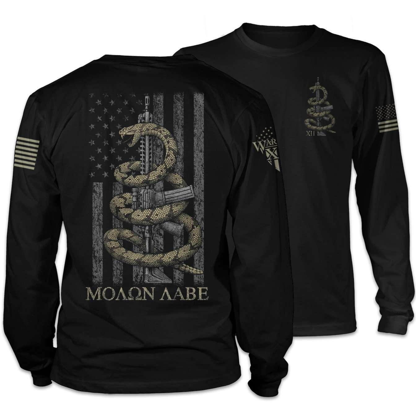 Gadsden Snake Long Sleeve T-Shirt