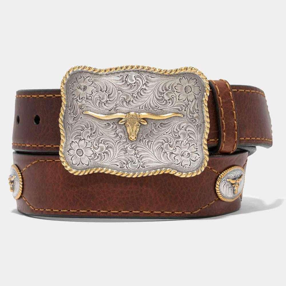 Texas – Made In USA Vintage Bison Belt (2 Variants)