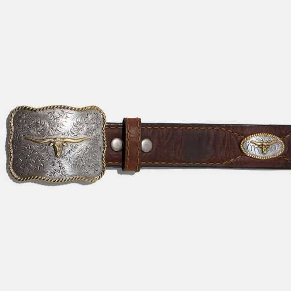vintage bison usa texas saddle 2 1000x