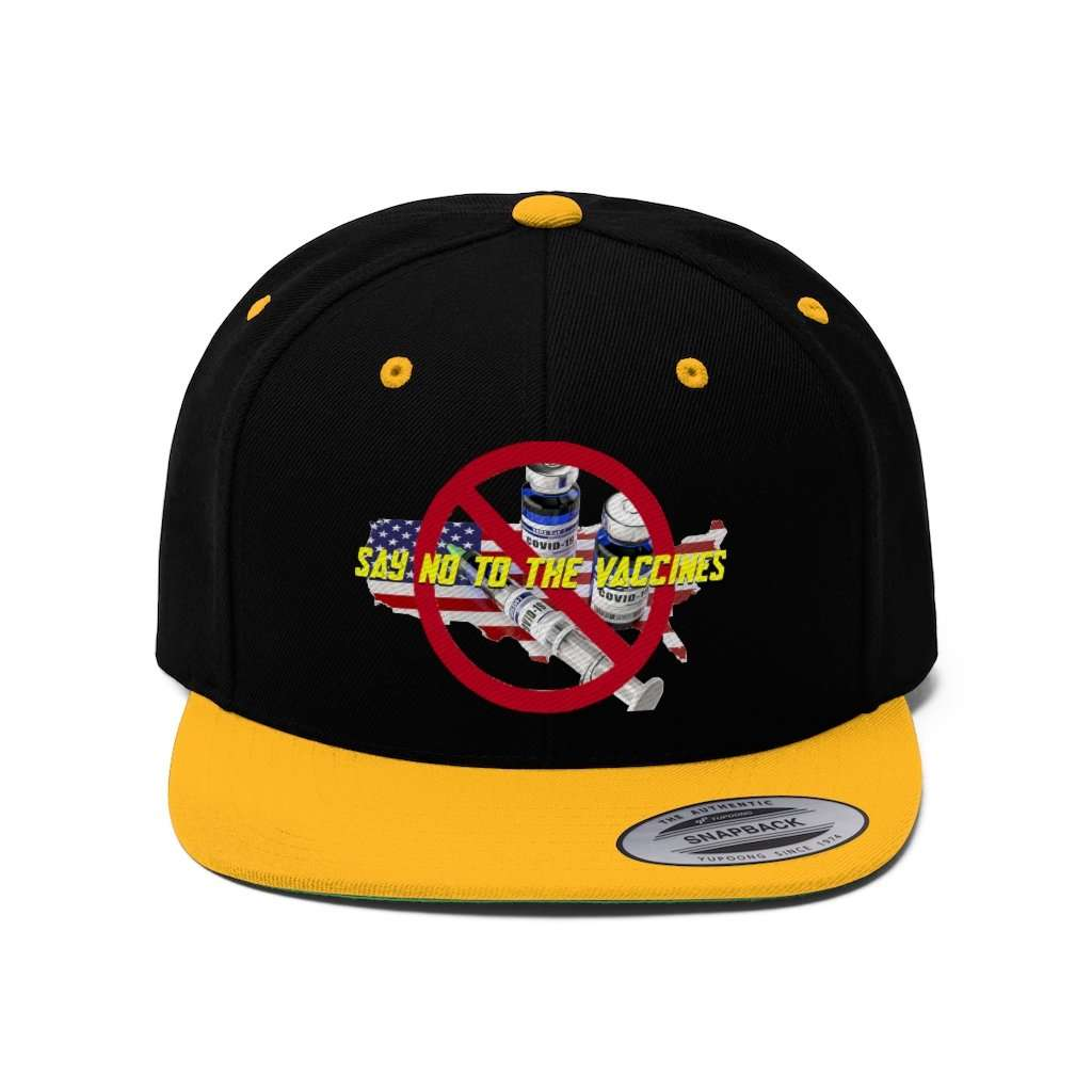 Say NO To The Vaccines Snapback Hat (5 Variants)