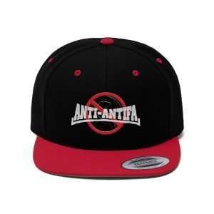 Anti-Antifa Anti-Communism Snapback Hat