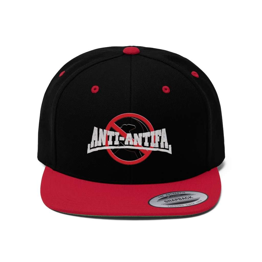 Anti-Antifa Anti-Communism Snapback Hat (5 Variants)