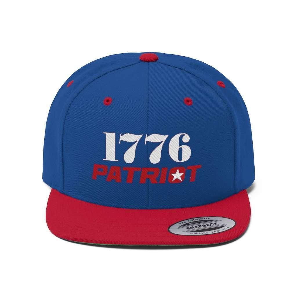 1776 Patriot Star Snapback Hat (5 Variants)