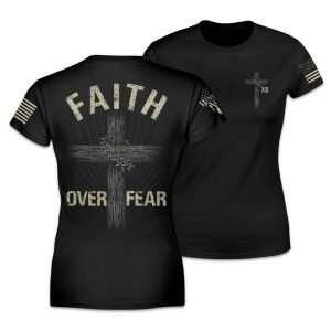 Faith Over Fear Women's Relaxed Fit T Shirt