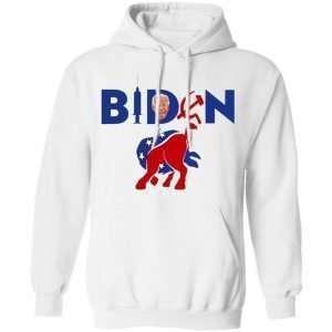 Biden Commie Vaccinator Jackass Hoodie