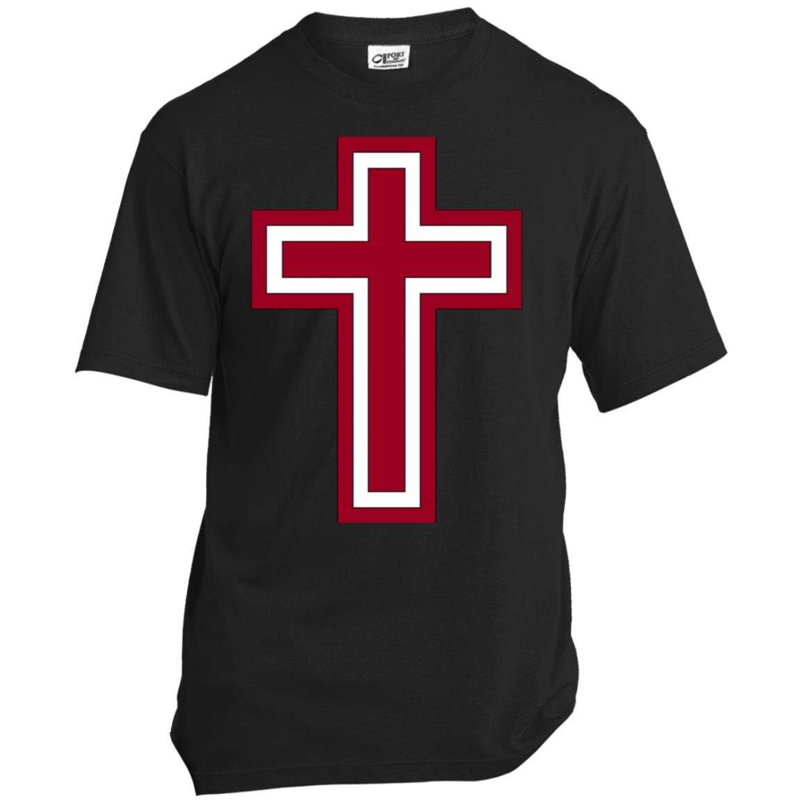Red and White Cross T Shirt (6 Variants)